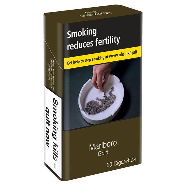 Duty free Bristol airport cigarettes Marlboro prices