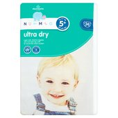 Nutmeg Nappies Ultra Dry Size 5+