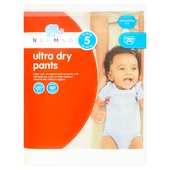 Nutmeg Nappies Ultra Dry Pants Size 5