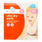 Nutmeg Ultra Dry Pants Size 4
