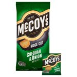 McCoy's Ridge Cut Cheddar & Onion 6 Pack
