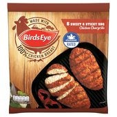 Birds Eye 6 Sticky and Sweet BBQ Chicken Chargrills