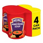 Heinz Classic Minestrone Soup 4 Pack