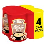 Heinz Classic Cream Of Mushroom Soup 4 Pack