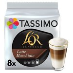 Tassimo L'Or Latte Macchiato Coffee Pods 8s