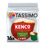 Tassimo Kenco Americano Decaff Coffee Pods 16s