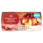 Morrisons Summer Fruit Sponge Puddings