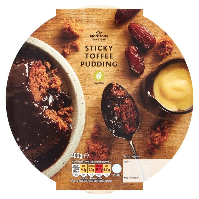 Morrisons Sticky Toffee Sponge Pudding