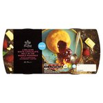 Morrisons The Best White Chocolate & Raspberry Melt In The Middle Pudding