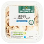 Morrisons Sliced Mushrooms