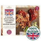 Morrisons Market St Duck Legs with Cherry Hoisin Sauce