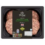 Morrisons The Best 4 Lamb & Mint Burgers