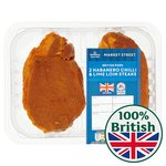 Morrisons Market St Habanero & Lime Pork Loin Steaks
