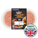Morrisons The Best 4 Vintage Cheddar Beef Burgers