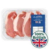 Morrisons British Pork Loin Steaks