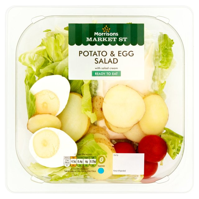 Morrisons Potato & Egg Salad
