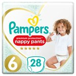 Pampers Premium Protection Active Fit Nappy Pants Size 6,15+kg