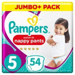 Pampers Active Fit Nappy Pants 5 Junior