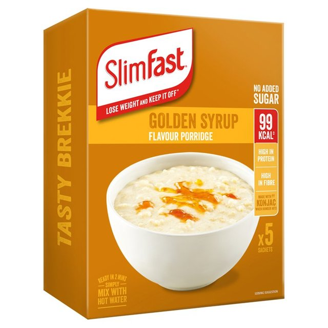 Slimfast Porridge Golden Syrup