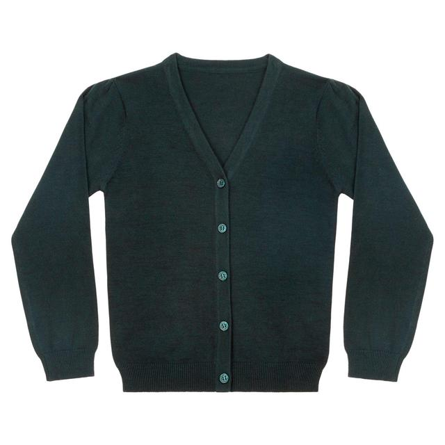 Nutmeg Girls Green Cardigan