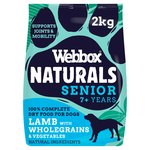Webbox Natural Complete Senior Lamb