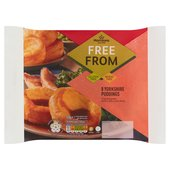 Morrisons 8 Free From Yorkshire Puddings