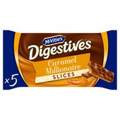 McVitie's Digestives Caramel Slices