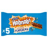 McVitie's Hobnobs Flapjacks With Milk Chocolate