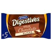 McVitie's Digestives Chocolate Slices