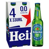 Heineken 0.0 Alcohol Free Beer