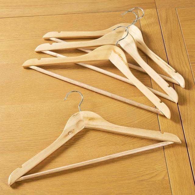 morrisons wooden hangers