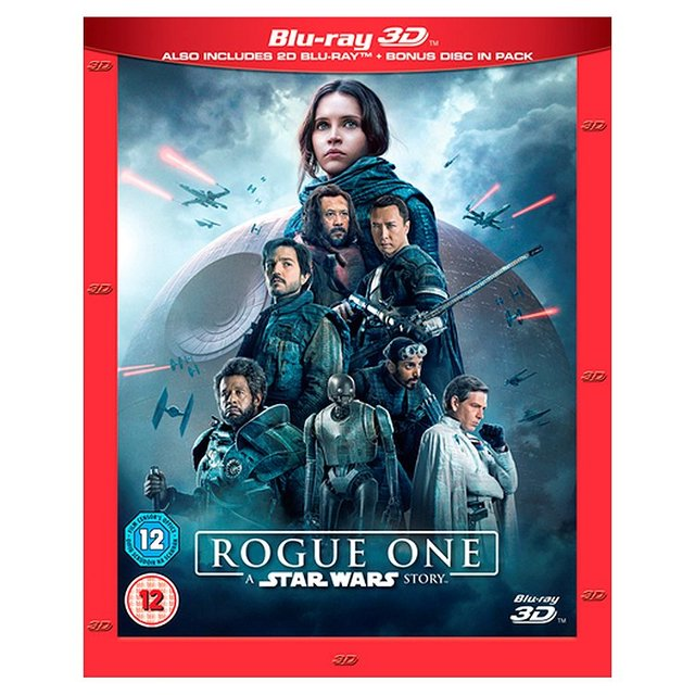 Rogue One A Star Wars Story 3D Blu-Ray