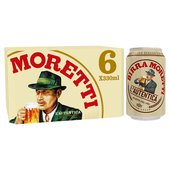 Birra Moretti Lager Beer Can