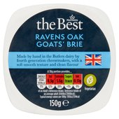 Morrisons The Best Ravensoak Goat's  Cheese