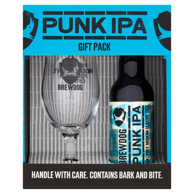 BrewDog Punk IPA and Glass Gift Pack