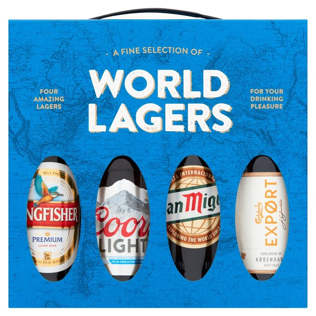World Lager Selection Gift Set