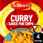 Schwartz Curry Sauce For Chips Mix