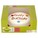 Morrisons Free From Happy Birthday Cake
