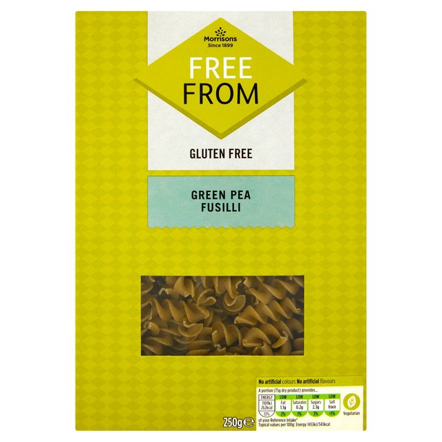 Morrisons Free From Green Pea Pasta
