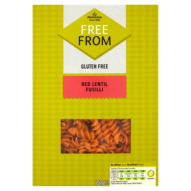 Morrisons Free From Red Lentil Pasta