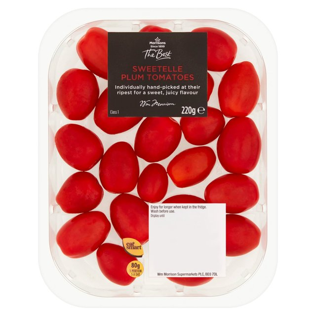 Morrisons The Best Sweetelle Plum Tomatoes