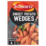 Schwartz Sweet Potato Wedges Recipe Mix