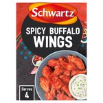 Schwartz Spicy Buffalo Wings Recipe Mix
