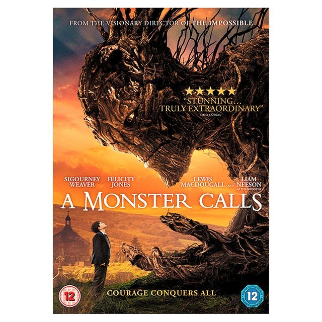 A Monster Calls DVD (12)