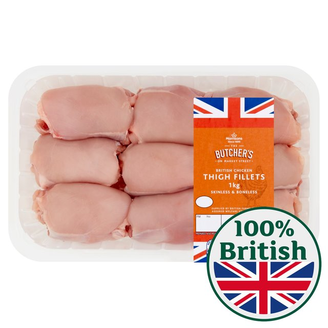 Morrisons Chicken Thigh Fillets