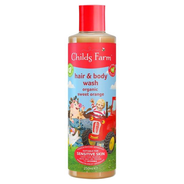 Childs Farm Organic Sweet Orange Hair & Body Wash