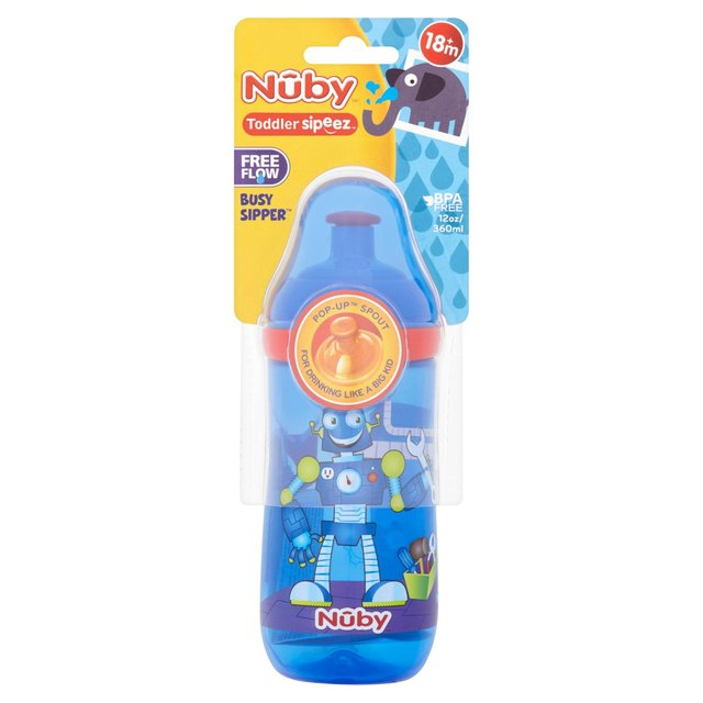 Nuby Toddler Sipeez Busy Sipper 18M+