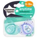 Tommee Tippee Boys Anytime Soother 6-18M