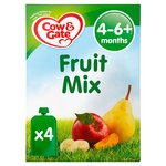 Cow & Gate Fruit Cocktail Fruit Puree Pouch Multipack