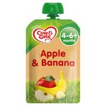 Cow & Gate Apple & Banana Pouch 4 Months+